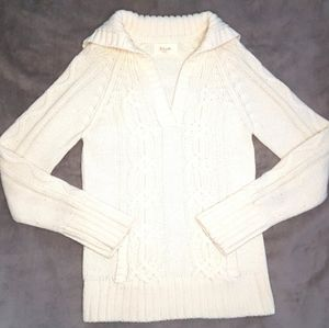 🆕️Thick Cozy Cable Knit Cowl neck Sweater